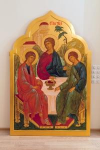 Святая Троица. Икона для иконостаса