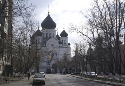 Иконостас Иверского собора Николо-Перервинского монастыря_1