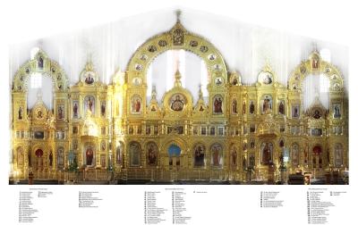 Иконостас Иверского собора Николо-Перервинского монастыря_6