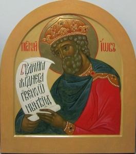 Иконостас Благовещенского храма села Липецы Московской области_13