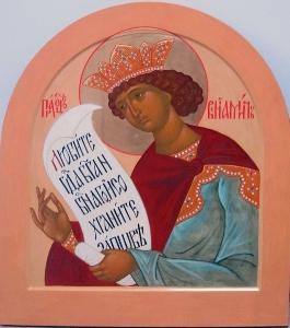 Иконостас Благовещенского храма села Липецы Московской области_8