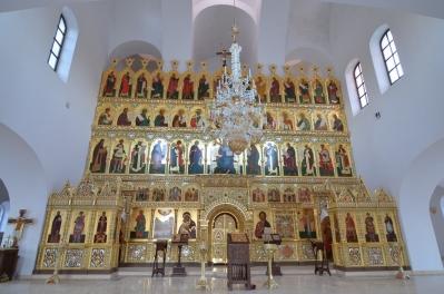 Иконостас храма Всех святых г. Гусева_1