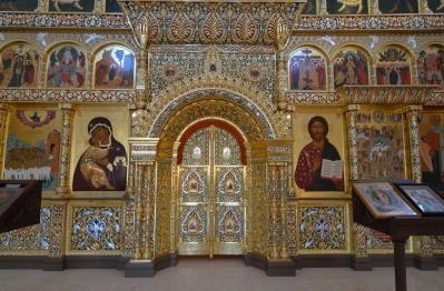 Иконостас храма Всех святых г. Гусева_2