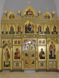 Иконостас храма Всех святых г. Гусева_3