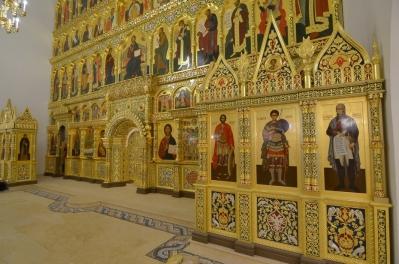 Иконостас храма Всех святых г. Гусева_4