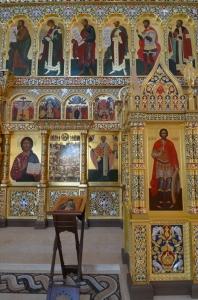 Иконостас храма Всех святых г. Гусева_5