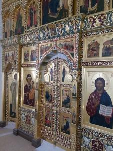 Иконостас храма Всех святых г. Гусева Калининградской области_1