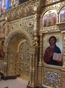 Иконостас храма Всех святых г. Гусева Калининградской области_23