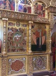 Иконостас храма Всех святых г. Гусева Калининградской области_2