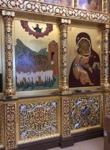 Иконостас храма Всех святых г. Гусева Калининградской области_33