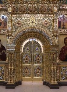 Иконостас храма Всех святых г. Гусева Калининградской области_40