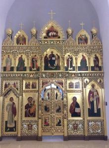 Иконостас храма Всех святых г. Гусева Калининградской области_5