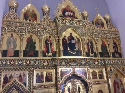Иконостас храма Всех святых г. Гусева Калининградской области_6