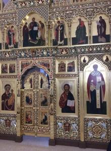 Иконостас храма Всех святых г. Гусева Калининградской области_7