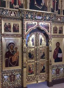 Иконостас храма Всех святых г. Гусева Калининградской области_8