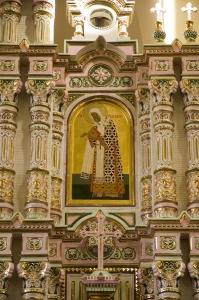 Иконостас Алексеевского придела Троицкого собора г. Щелково_10