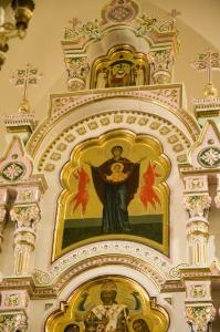 Иконостас Алексеевского придела Троицкого собора г. Щелково_11