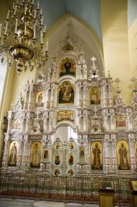Иконостас Алексеевского придела Троицкого собора г. Щелково_1