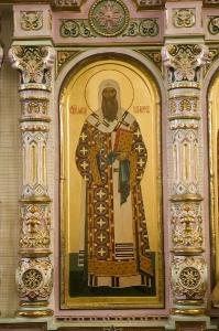 Иконостас Алексеевского придела Троицкого собора г. Щелково_4