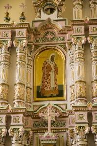 Иконостас Алексеевского придела Троицкого собора г. Щелково_9