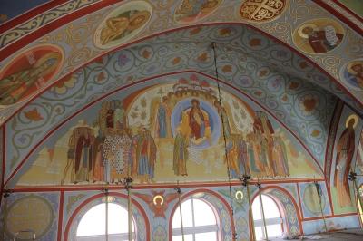 Роспись Троицкого собора г. Щелково_12