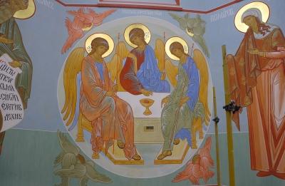 Роспись Троицкого собора г. Щелково_14