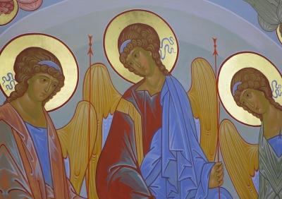 Роспись Троицкого собора г. Щелково_15