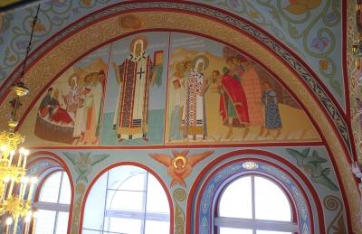 Роспись Троицкого собора г. Щелково_18