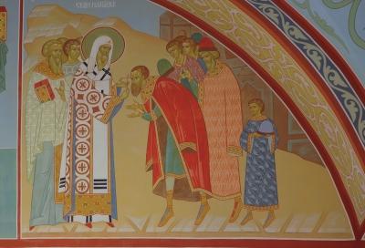 Роспись Троицкого собора г. Щелково_19