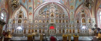 Роспись Троицкого собора г. Щелково_1
