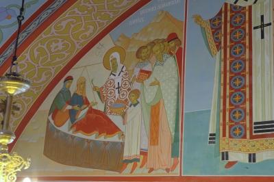 Роспись Троицкого собора г. Щелково_20
