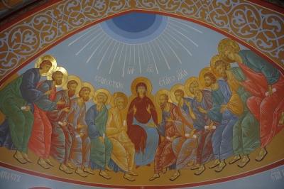 Роспись Троицкого собора г. Щелково_25