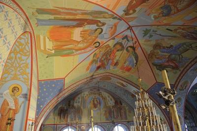 Роспись Троицкого собора г. Щелково_26