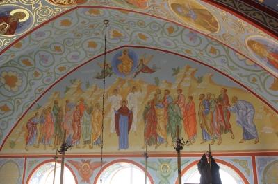 Роспись Троицкого собора г. Щелково_28