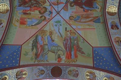 Роспись Троицкого собора г. Щелково_2
