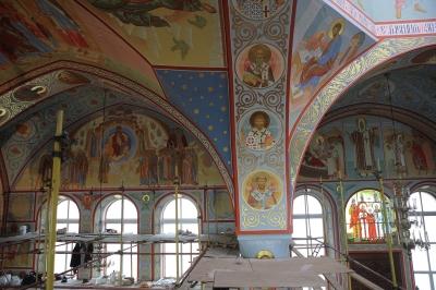 Роспись Троицкого собора г. Щелково_30