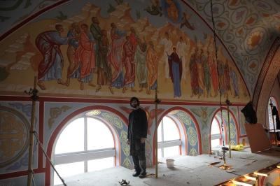 Роспись Троицкого собора г. Щелково_31