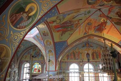 Роспись Троицкого собора г. Щелково_33