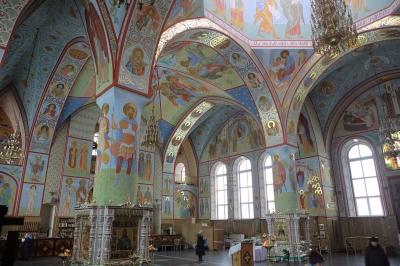 Роспись Троицкого собора г. Щелково_3