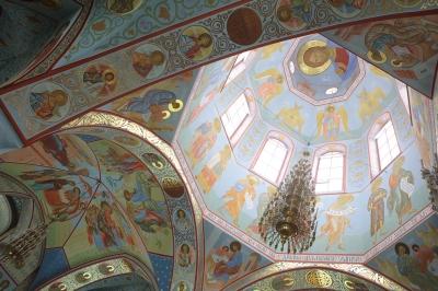 Роспись Троицкого собора г. Щелково_8