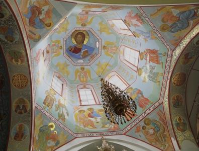 Роспись Троицкого собора г. Щелково_9