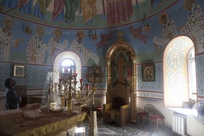Роспись Троицкого храма г. Пушкино_11