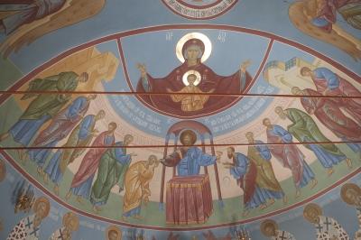 Роспись Троицкого храма г. Пушкино