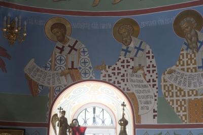 Роспись Троицкого храма г. Пушкино_6