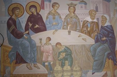 Роспись Преображенского храма в Кореневе, пос. Красково_10