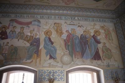 Роспись Преображенского храма в Кореневе, пос. Красково_11