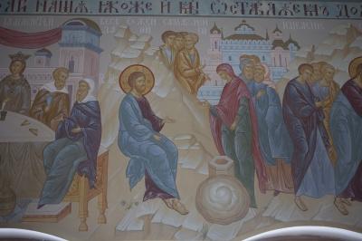 Роспись Преображенского храма в Кореневе, пос. Красково_13