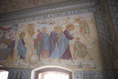 Роспись Преображенского храма в Кореневе, пос. Красково_16