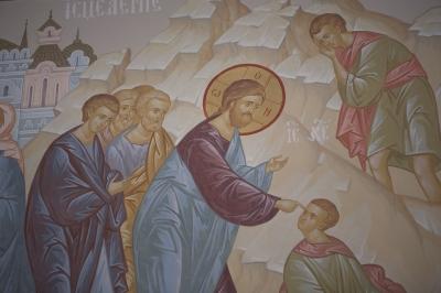Роспись Преображенского храма в Кореневе, пос. Красково_17