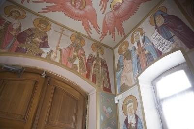 Роспись Преображенского храма в Кореневе, пос. Красково_19